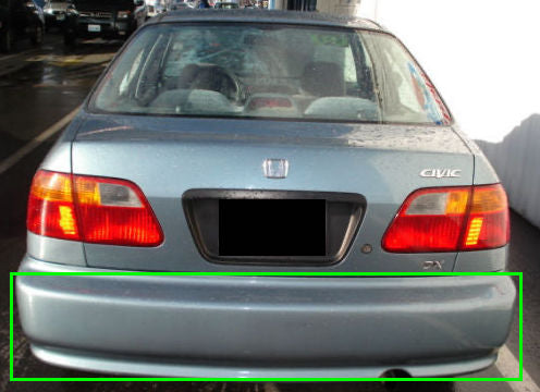 Honda Civic (1996 - 2000) Rear Bumper