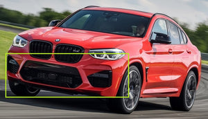 BMW X4 - G02 (2018 – present) Front Bumper Removal