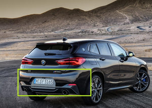 BMW X2 - F39 (November 2017 – Present) Rear Bumper Removal