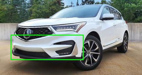 Acura RDX 2020 Front Bumper Removal