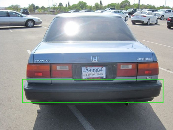 Honda Accord (1988) Rear Bumper