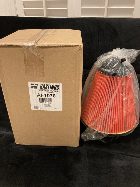 Hastings AF1076 Conical Air Filter Element with Handle