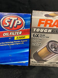 2-Pack STP S3600 and Fram TG3600 TH3600 Oil Filters. New open box