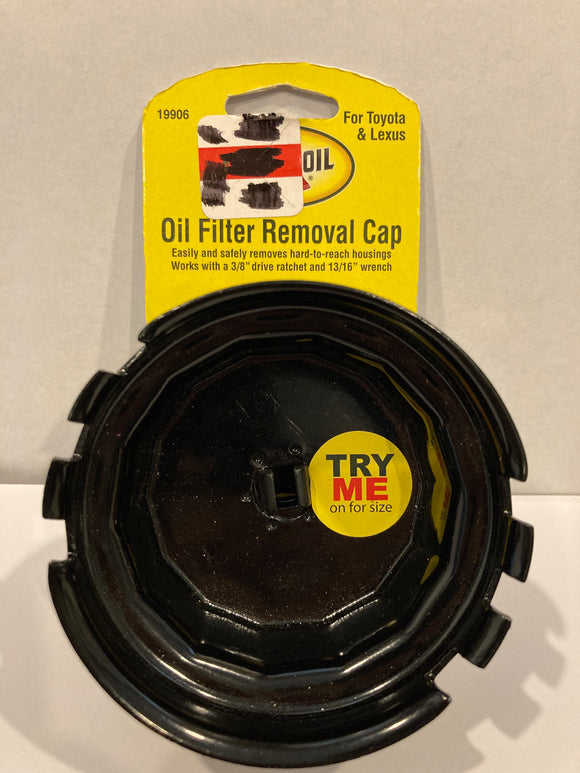 Pennzoil Oil Filter Cap Removal Wrench - for Toyota and Lexus Cars-Trucks