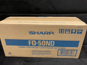 Genuine Sharp FO50ND FO-50ND Toner Cartridge Black - New