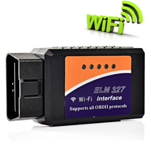 2016 Latest Version V1.5 ELM327 WIFI OBD2 / OBDII Auto Diagnostic Scanner Tool ELM 327 WiFi Diagnostic Tool