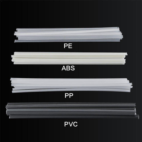 50pcs Plastic Welding Rods Bumper Repair ABS/PP/PVC/PE Welding Sticks Welding Soldering Supplies For Plastic Welder