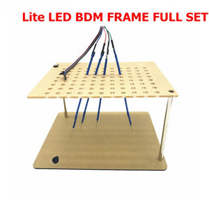 2019 LED BDM FRAME is best bracket For ECU Update /ECU Brush And Write/ECM Modified and programming/Probe holder / Dimsport aids