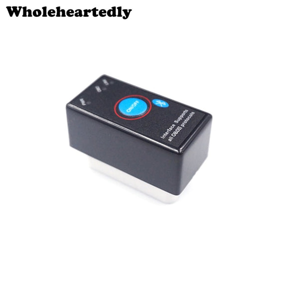 100% Firmware V1.5 MINI ELM327 Bluetooth Power Switch ELM 327 OBD2 Diagnostic Scanner Supports All OBDII Protocols