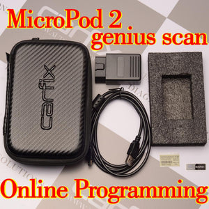 Carfix WeTech MicroPod II Micropod2 Diagnostic Online Programming Scanner for Chry$ler FCA wi 17.04.27