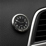 Car Clock Luminous Mini Automobiles Internal Stick-On Digital Watch Mechanics Quartz Clocks Automotive Styling Accessories Gifts