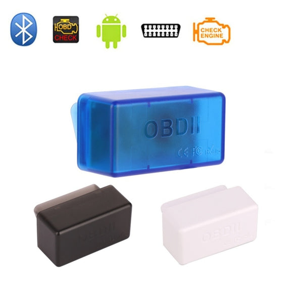 New OBD 2 ELM327 OBD2 Bluetooth 2.0 Adapter ELM 327 V1.5 Auto Diagnostic Scanner for Cars Android with ST Chip