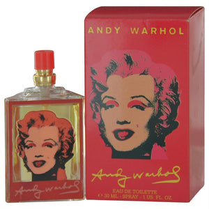 Andy Warhol Marilyn Red  Andy Warhol Edt Spray 1 Oz | - BUY BEAUTY PRODUCTS