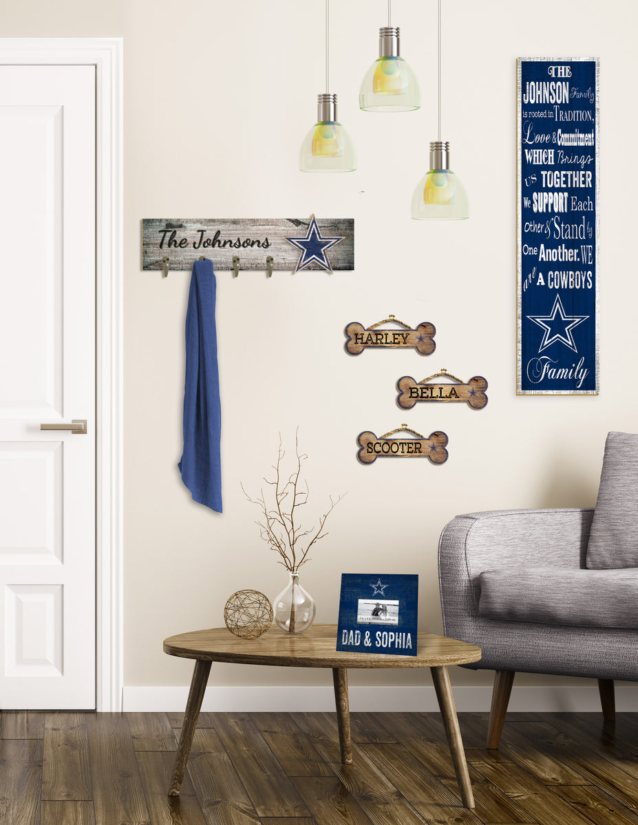 Room featuring a variety of Personalized signs