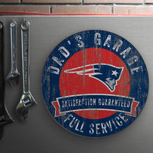 Load image into Gallery viewer, Dad's Garage NFL Circle Sign