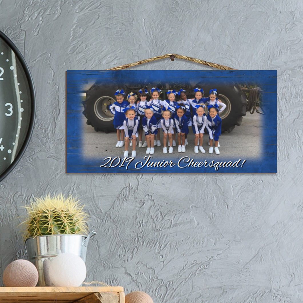 Custom Photo Sign