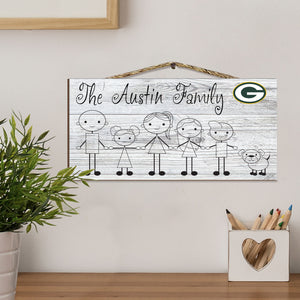 Fansticks Family Personalized NFL Sign