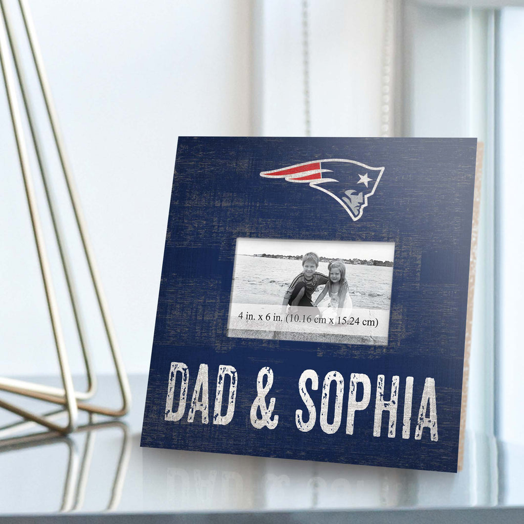 Personalized NFL Picture Frame