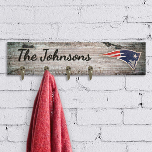 Personalized NFL Coat Hanger