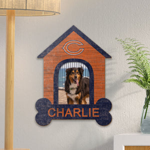 Dog House Personalized NFL Sign