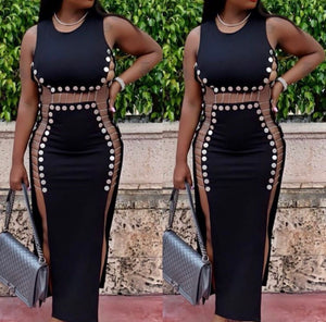 Pop Out Long Bodycon