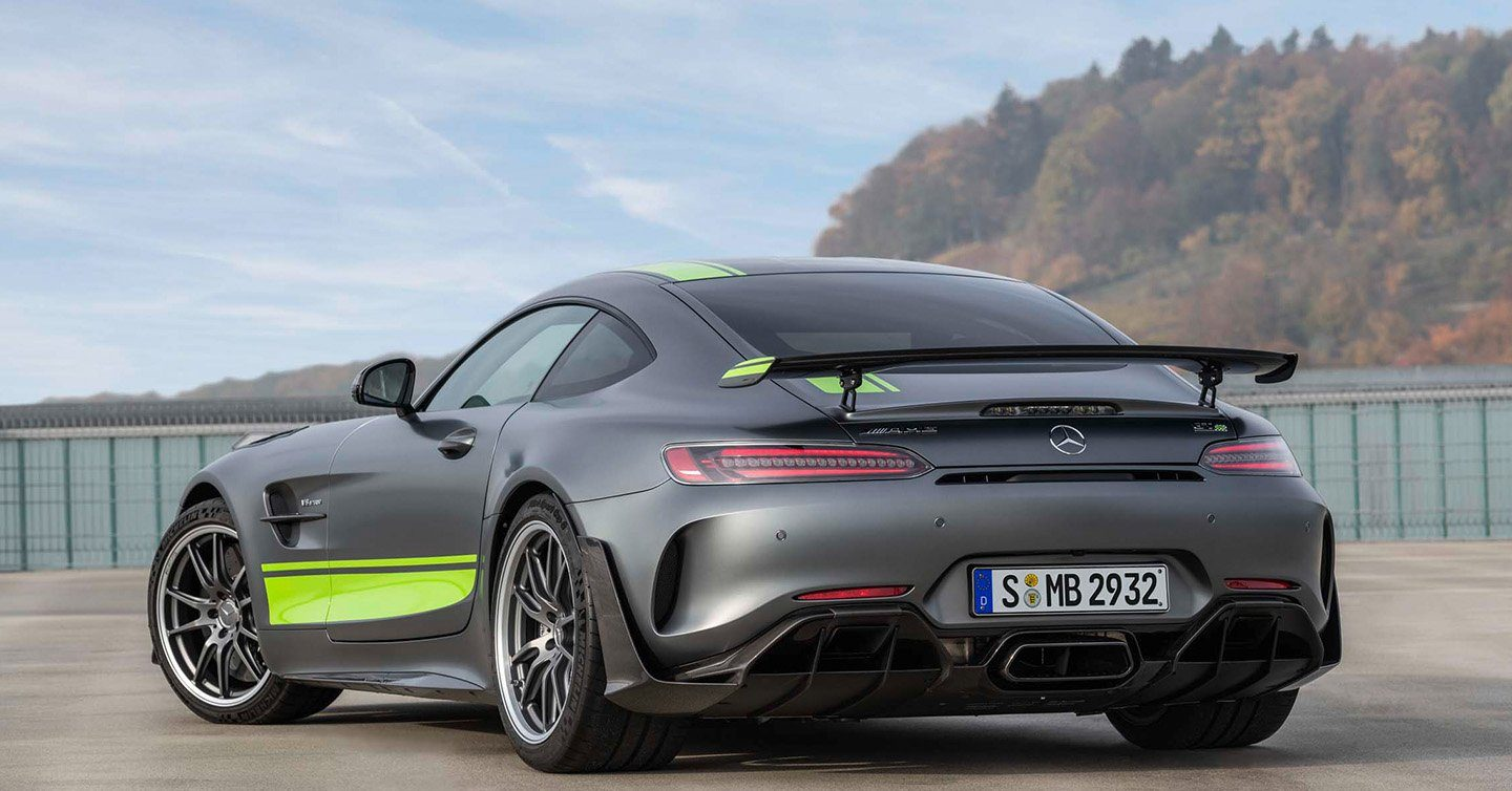 Mercedes AMG GT R 2020 [Infographic]