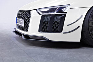 Audi R8 (Gen2) – Carbon Front Spoiler and Front Fins Set
