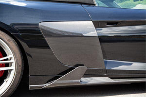 Audi R8 (Gen2) Facelift – Carbon Side Fins