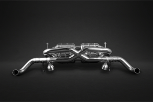 Audi R8 Pre-Facelift V8 - X-Pipe Exhaust System with CES-3 Programmable Remote