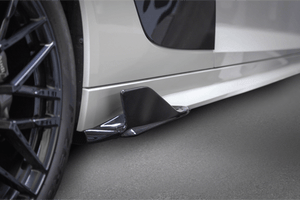 Audi R8 V10 PLUS (2015- ) Capristo Carbon Side Fins Exhaust System