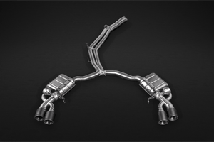 Audi RS4 (B9) - Valved Catback Exhaust System, Mid Pipes Exhaust System