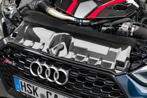 Audi RS5 (F5) – Carbon Fiber Engine Cover and Lock Cover Set