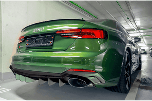Audi RS5 (F5) – Carbon Fiber Rear Diffusor Available in Gloss or Matte finish