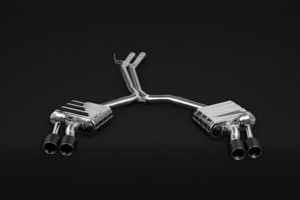 Audi S4/5 (B9/F5) – Valved Exhaust with Mid-Pipes and Carbon Tips (CES3)