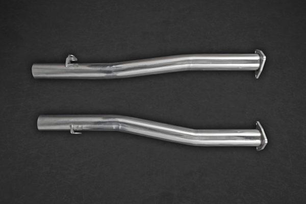 Bentley Continental GT Speed W12 (12+) – Middle Silencer / Secondary Cat Replacement Pipes