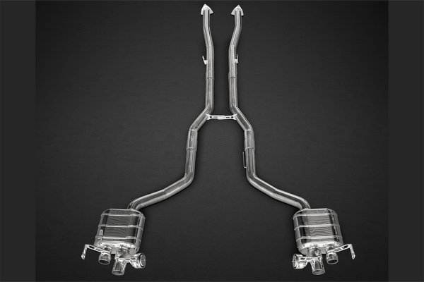 Bentley Continental GT V8 (S) - Valved Exhaust System Exhaust System