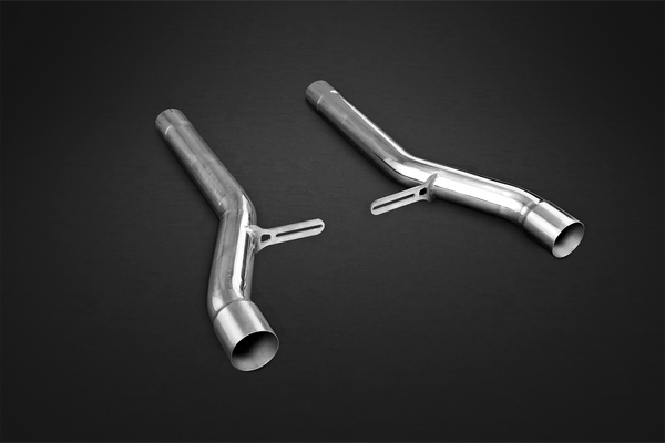 Bentley Continental Supersport W12 & Continental GTC - Middle Silencer Cat Replacement Pipes Exhaust System