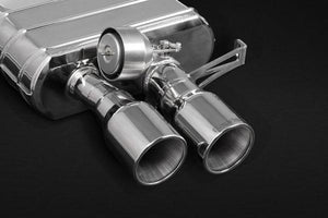 BMW 650i (V8TT) – ECE Valved Mufflers with Stainless Tips (CES3)