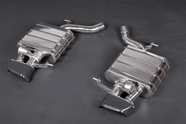 BMW 650i (V8TT) - Valved Exhaust System with Ceramic Coated Tips Exhaust System
