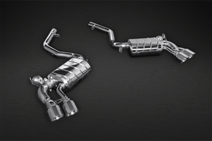 BMW X5M (F15) (2013) & X6M (2014)  iconic CAPRISTO Valved Exhaust System