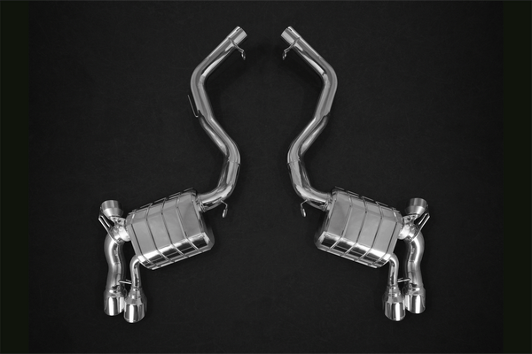 BMW X5M (F15) (2013) & X6M (2014) - Valved Exhaust System & Mid-Pipes With Stainless Steel Tips Exhaust System