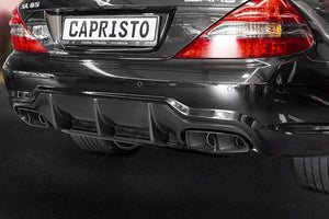 Exhaust system, with exhaust flaps, including programmable flap control CES-3, parts certificate only for the SL65