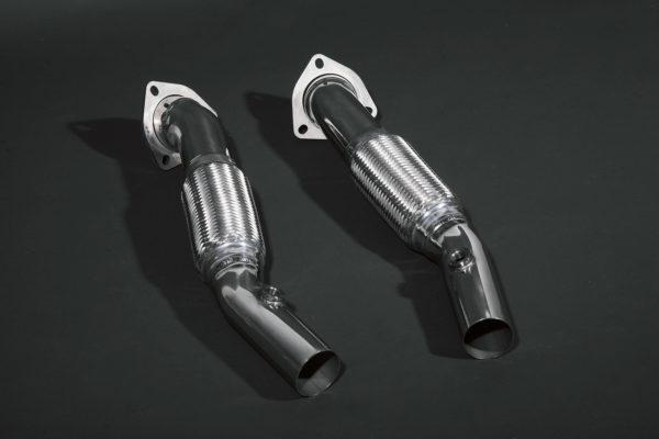 Ferrari 430 Scuderia/16M – Cat Delete Pipes (for OEM)