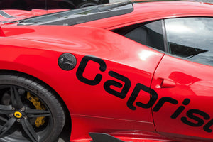 Ferrari 458 - Carbon Gas Cap Exhaust System