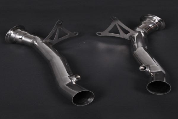 Ferrari 458 – Cat Delete Pipes (with Heat Blankets)