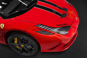 Ferrari 458 Speciale - Air Outlet Ribs Exhaust System