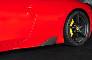 Ferrari 458 Speciale - Carbon Side Fins Exhaust System