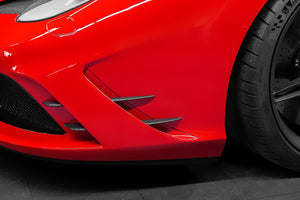 Ferrari 458 Speciale - Front Fins Exhaust System