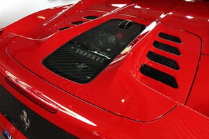 Ferrari 458 Spider – Carbon and Glass Bonnet (Raw)