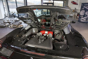 Ferrari 458 Spider – Carbon Side Engine Compartment Covers